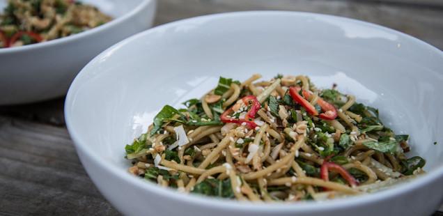 bok choy noodles