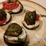 Summer Eggplant Rounds