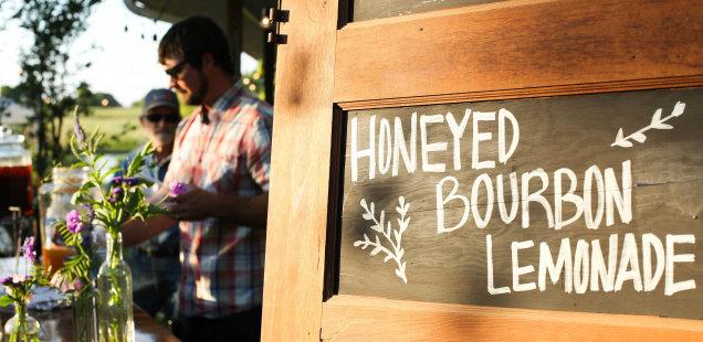 Honeyed Bourbon Lemonade